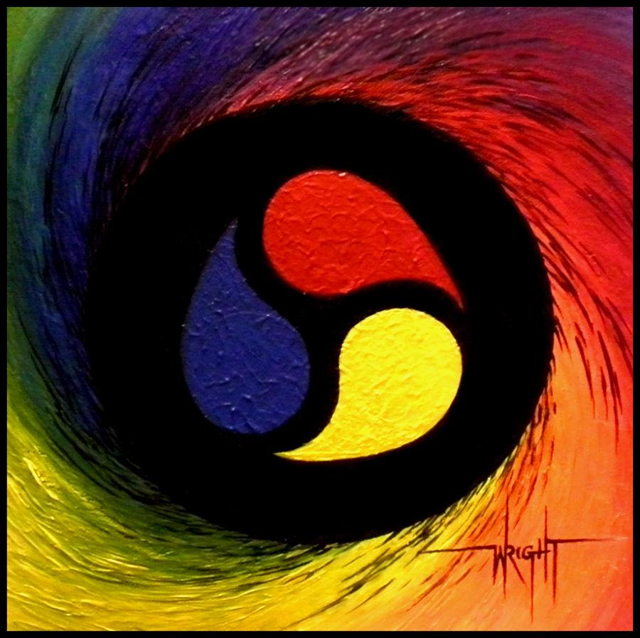 The Color Vortex