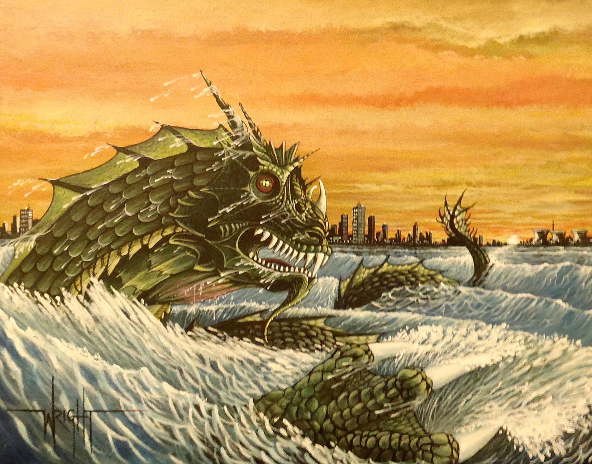Leviathan (sea dragon) Demon of Envy