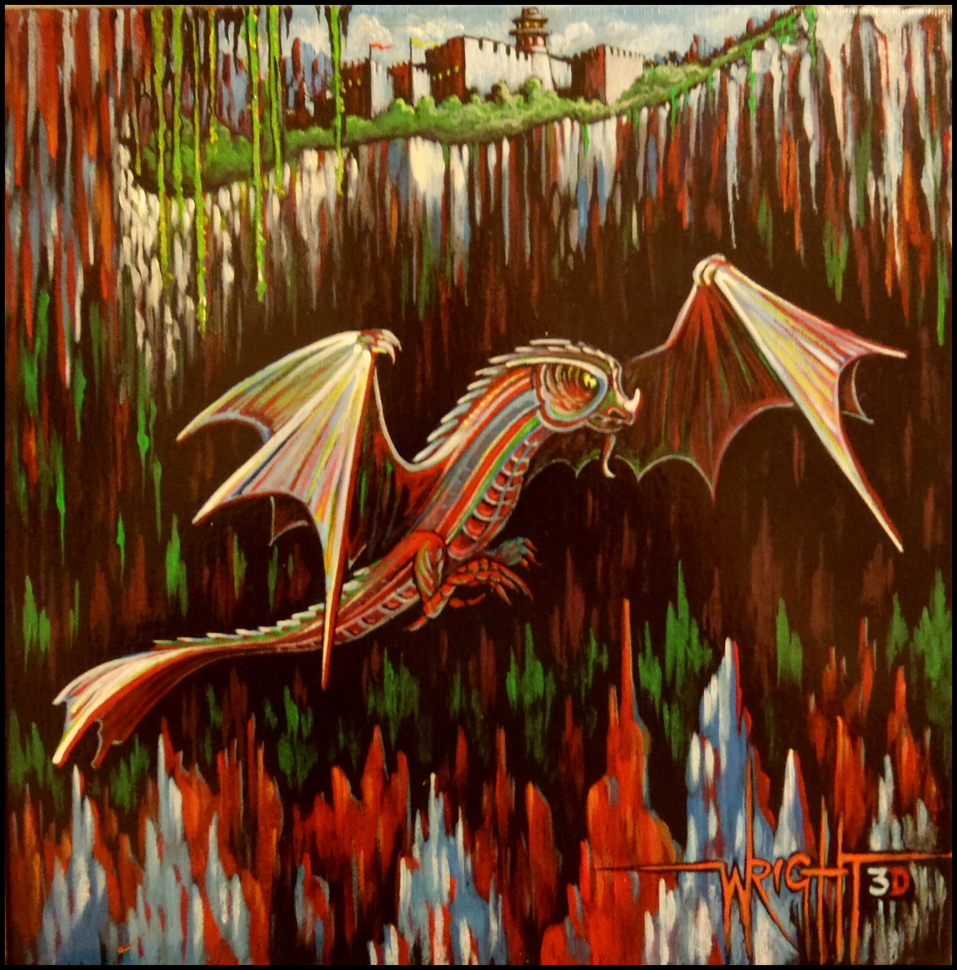 The Magic Dragon - 3D.