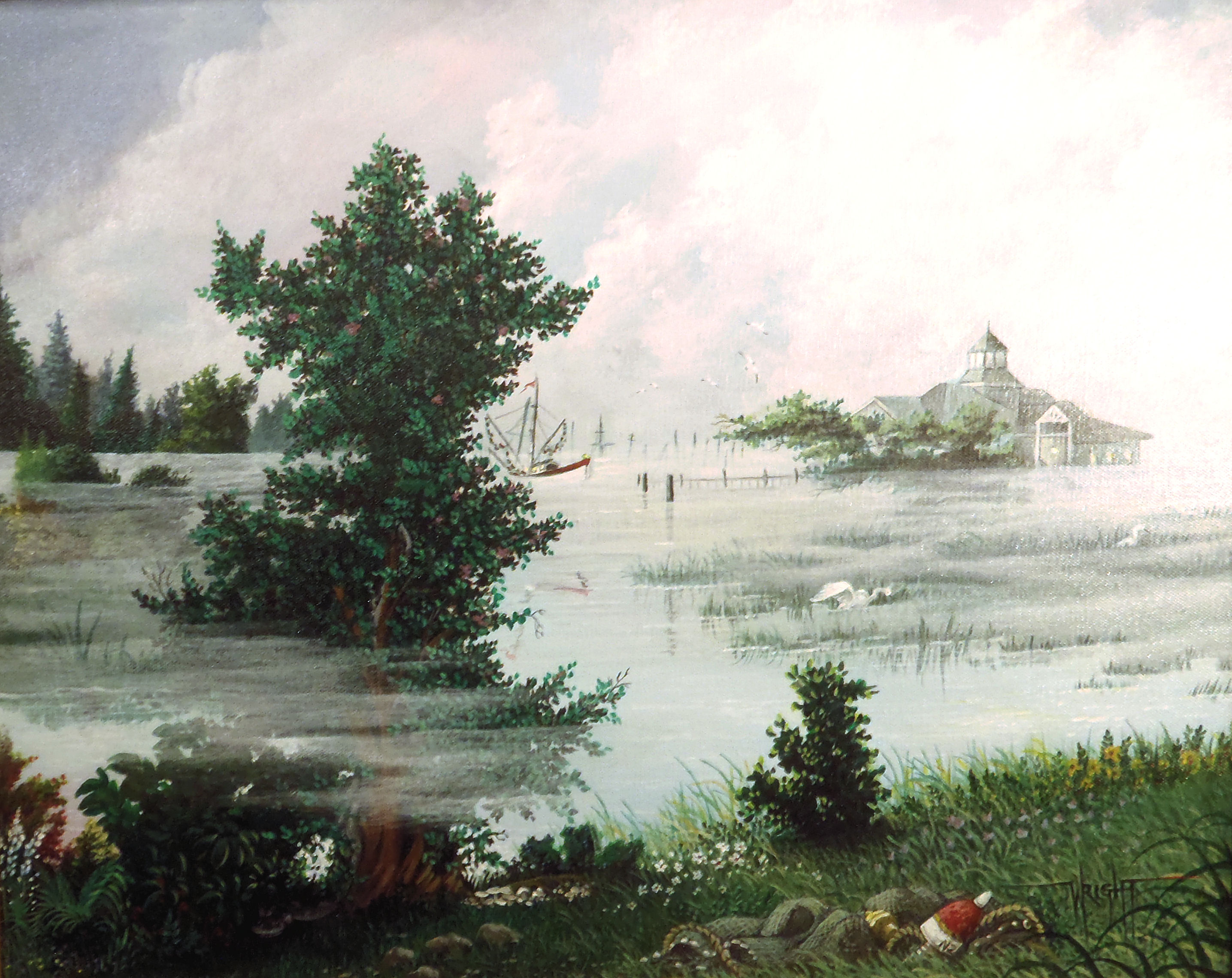 Painting of Murrells Inlet SC