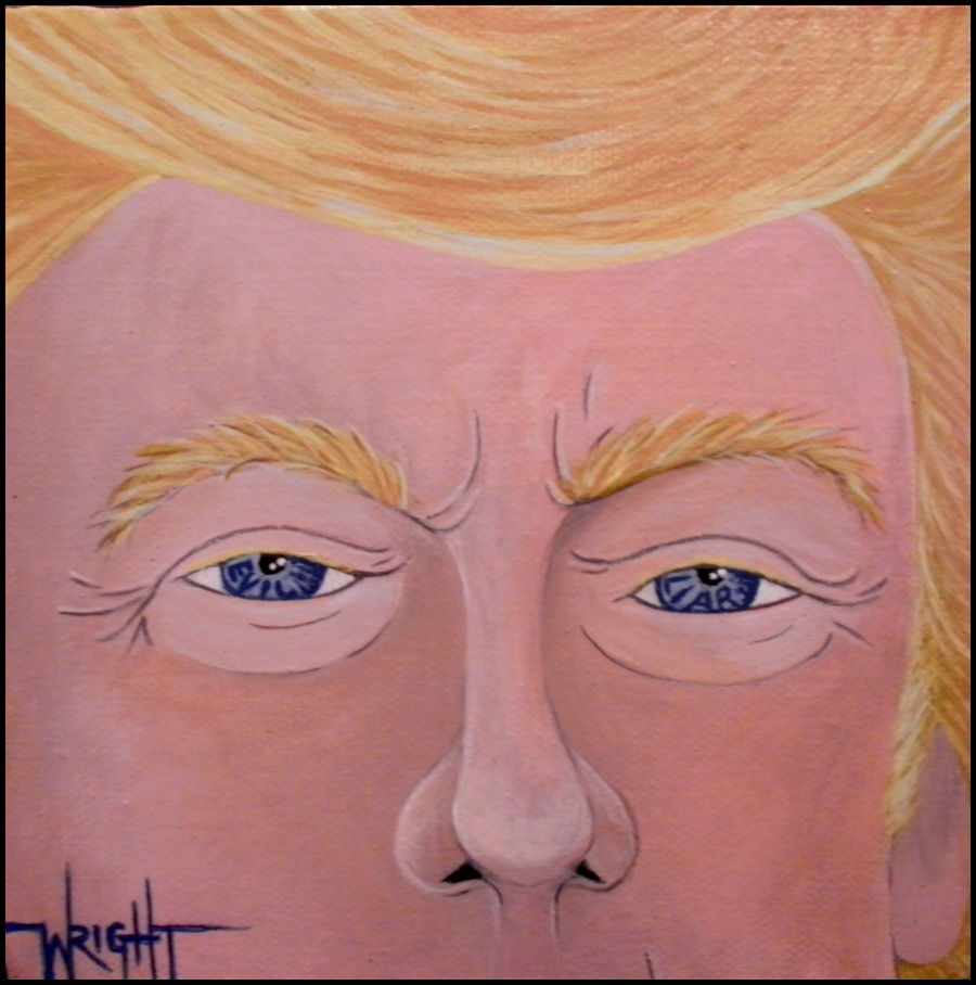 The Eyes Of Trump